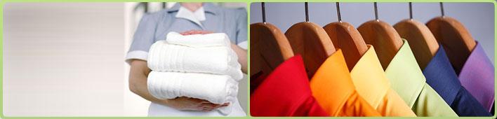 Consegna e ritiro capi d'abbigliamento