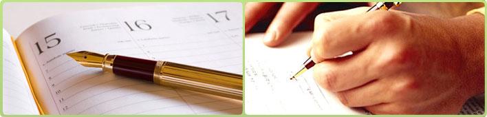 Tenere l'agenda degli appuntamenti e delle scadenze